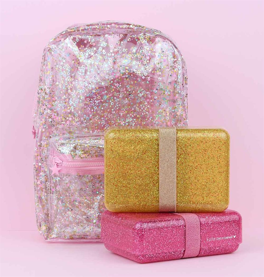 Madkasse Glitter pink A Little Lovely Company