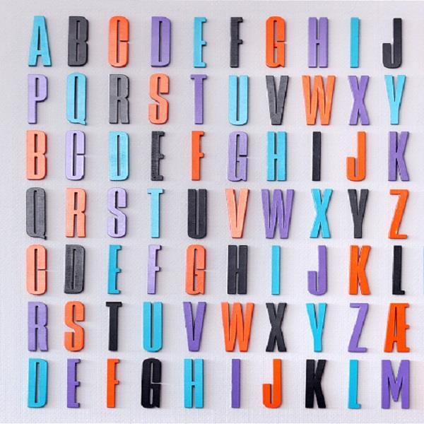 design letters bogstaver Bogstaver til væg fra Design Letters hos Cool Nordic design letters bogstaver