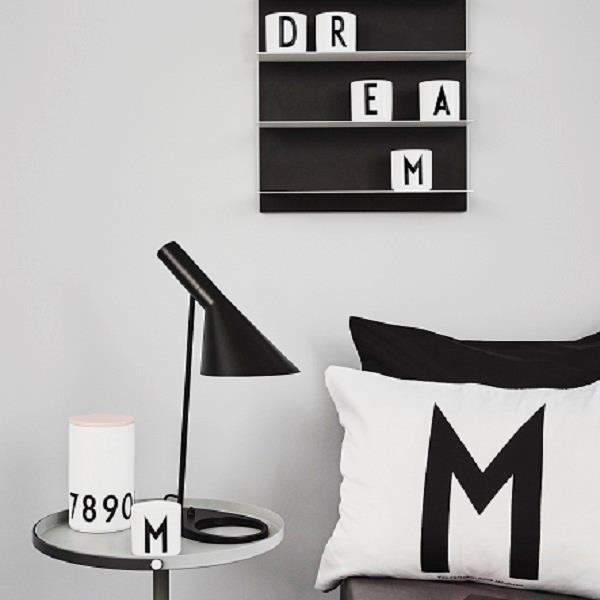 pudebetr k 60x60 arne jacobsen abc vintage fra design letters. Black Bedroom Furniture Sets. Home Design Ideas