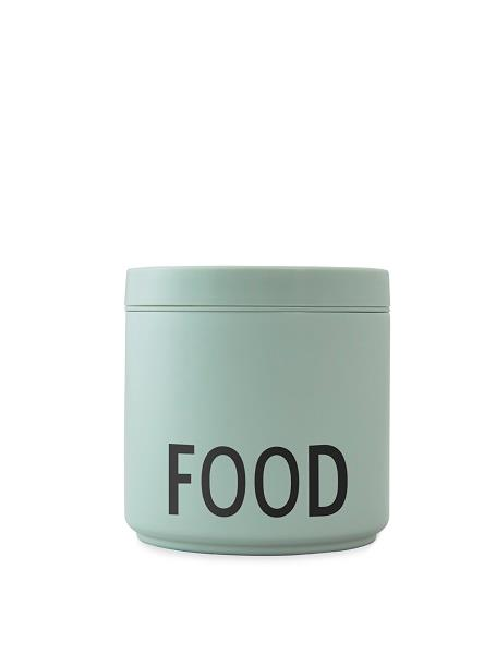 Termo lunch box mint i large fra Design Letters