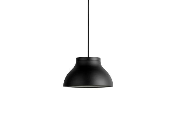Loftlampe PC Pendant small i sort fra Hay