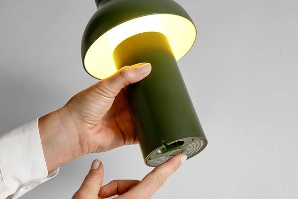 Top PC Portable bordlampe fra HAY - genopladelig lampe FRI FRAGT NB44