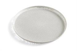 Bakke Perforated tray large i lysegrå fra HAY