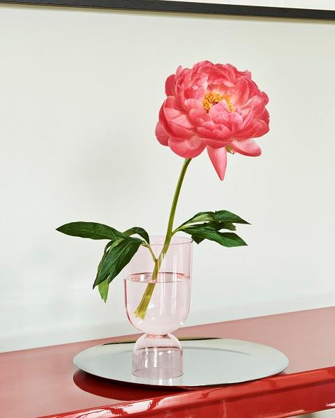 Bottoms Up vase small rosa fra HAY