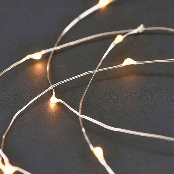 Sidste nye LED Lyskæde LED sølv fra House Doctor billigst online SO-64