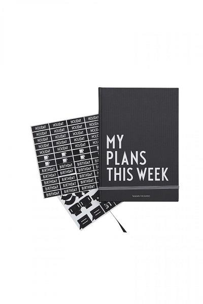 My plans this week kalender Design Letters