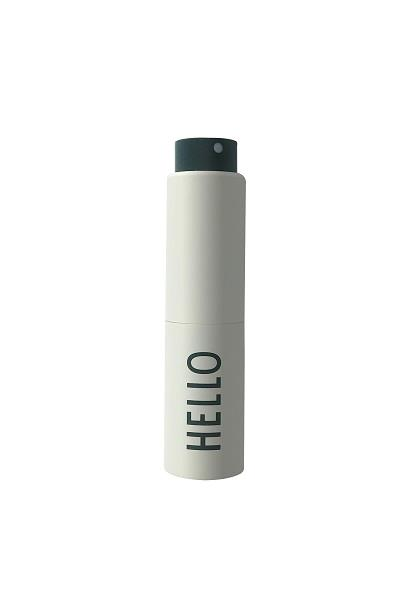 Take Care Håndsprit dispenser sprayflaske i offwhite HELLO fra Design Letters